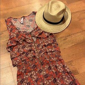 Target Xhilaration gorgeous arrow print dress sz M